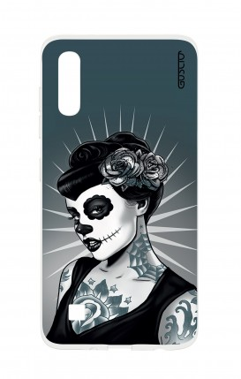 Cover TPU TRS Sam A10 - Calavera Grey Shades
