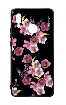 Huawei P20Lite WHT Two-Component Cover - Cherry Blossom