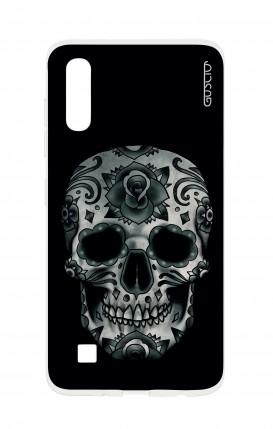 Cover TPU TRS Sam A10 - Dark Calavera Skull