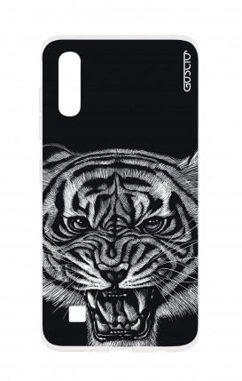 Cover TPU TRS Sam A10 - Tigre nera