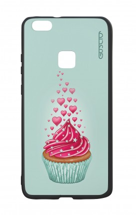 Huawei P10Lite White Two-Component Cover - Cupcake in Love