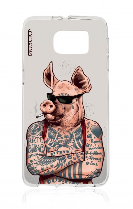 Cover TPU Samsung Galaxy S6 - Maiale