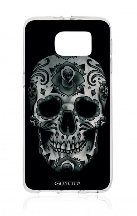 Cover TPU Samsung Galaxy S6 - Dark Calavera Skull