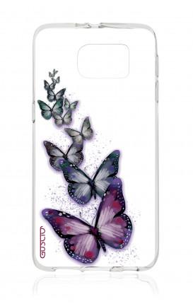 Cover TPU Samsung Galaxy S6 - Volo di farfalle