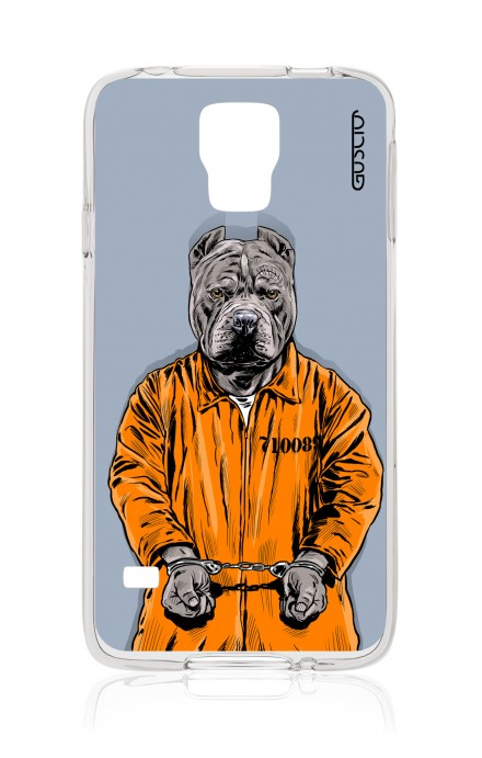 Cover Samsung Galaxy S5/S5 Neo - Cane carcerato