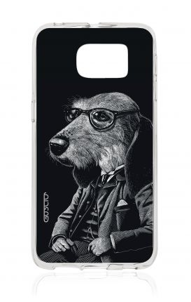 Cover TPU Samsung Galaxy S6 Edge  - Cane elegante
