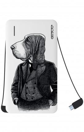 Power Bank 5000mAh iOs+Android - Dog in waistcoat