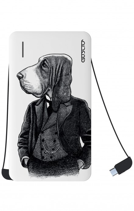 Power Bank 5000mAh iOs+Android - Cane in panciotto