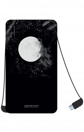 Power Bank 5000mAh iOs+Android - Moon