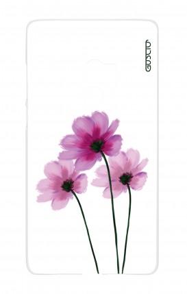 Cover Xiaomi Mi Mix2 - Fiori su bianco