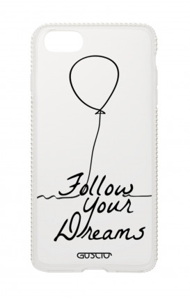 Apple iPhone 7/8 Plus Diamonds cover - Follow your dream