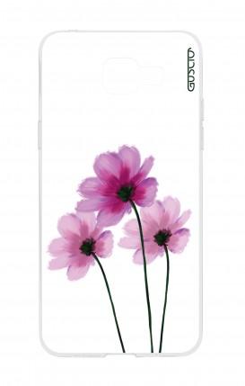 Cover Samsung Galaxy A5 (2016) - Fiori su bianco