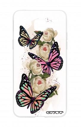 Cover Samsung Galaxy A5 (2016) - Butterflies white