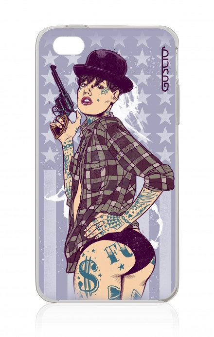 Cover Apple iPhone 4/4S - Bang PinUp