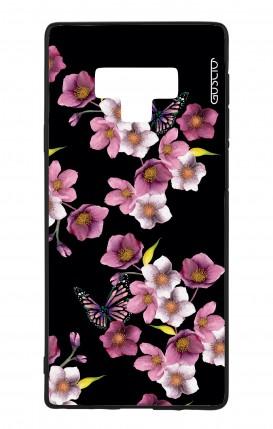 Cover Bicomponente Samsung Note 9 WHT - Fiori di ciliegio