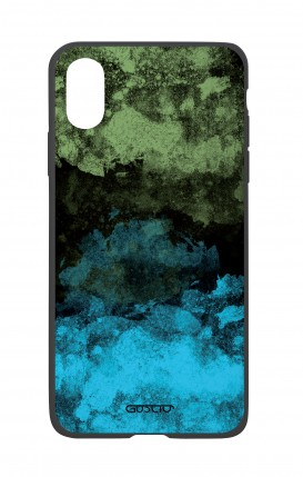 Cover Bicomponente Apple iPhone XR - Mineral BlackLime