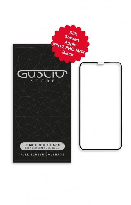 Tempered Glass SilkScreen - Apple iPhone 12 PRO MAX - Neutro