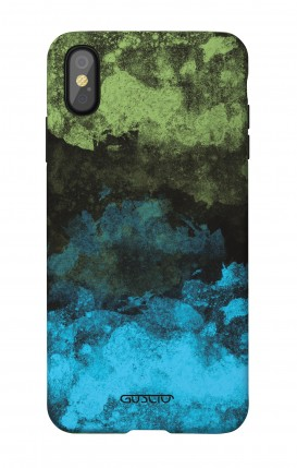 1. Cover Soft Touch Apple iPhone X/XS - Mineral BlackLime