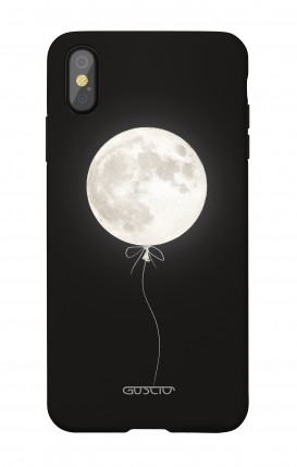 1. Cover Soft Touch Apple iPhone X/XS - Palloncino lunare