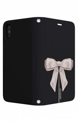 Case STAND Apple iphone X/XS - Satin White Ribbon