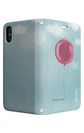 Cover STAND Apple iphone X/XS - palloncino della libertà