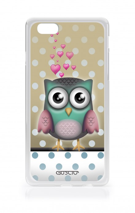 Cover Apple iPhone 7/8 Plus TPU - Polka Dot Owl