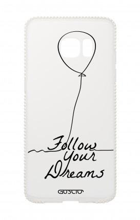 Cover Diamonds Samsung S7Edge TPU TRS - Follow your dream