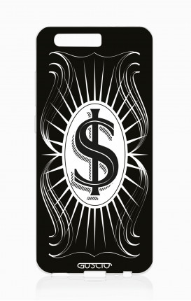 Cover TPU HUAWEI P10 Plus - Dollaro nero