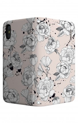 Case STAND Apple iphone X/XS - Peonias