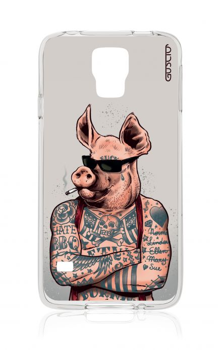 Cover Samsung Galaxy S5 GT G900 - Hate BBQ