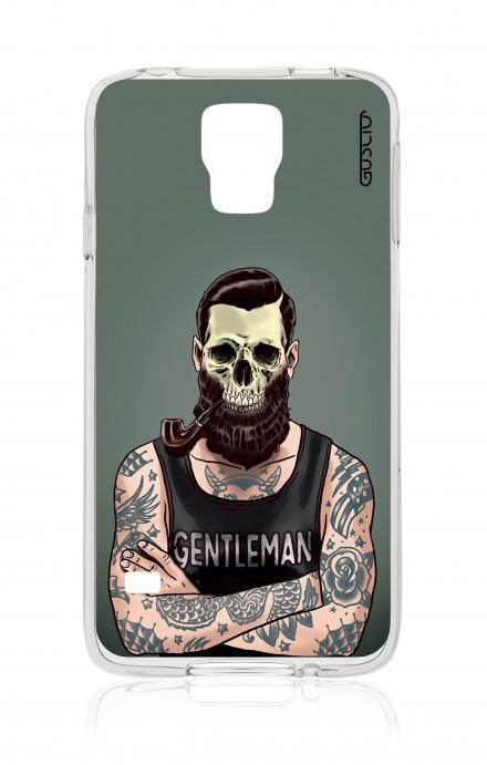 Cover Samsung Galaxy S5/S5 Neo - Teschio gentiluomo