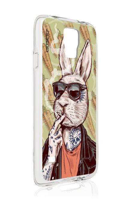 Cover Samsung Galaxy S5/S5 Neo - Coniglio che fuma