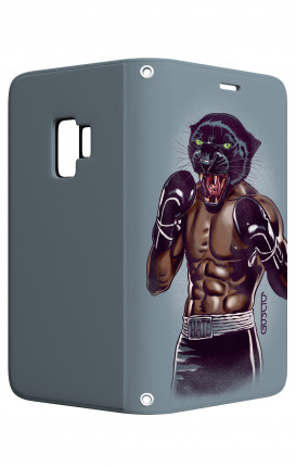 Case STAND Samsung A6  - Boxing Panther