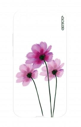 Cover Huawei P20 - Fiori su bianco