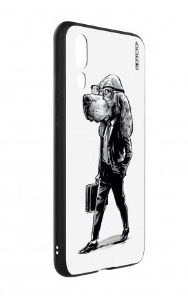 Cover Bicomponente Apple iPhone 7/8 - Peonie trasparenti