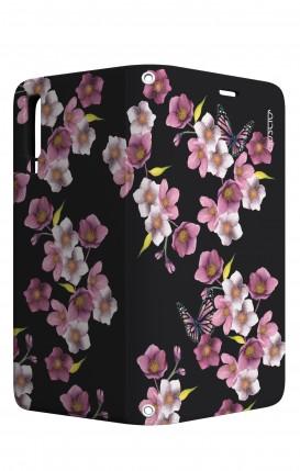 Cover STAND Samsung A7 2018 - Fiori di ciliegio