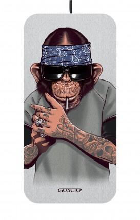 Caricatore Wireless Ultraslim - Scimpanze con bandana