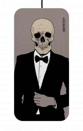 Wireless Charger Slim - Tuxedo Skull