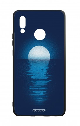 Huawei P20Lite WHT Two-Component Cover - Moon