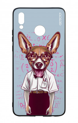 Huawei P Smart Plus WHT Two-Component Cover - Nerd Dog