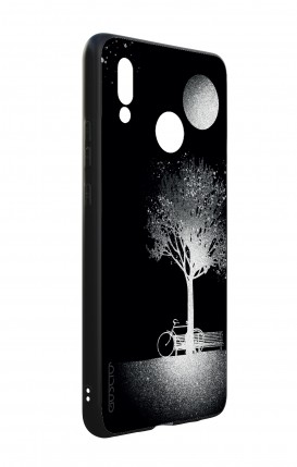 Cover Huawei P20 PRO - Farfalle su bianco