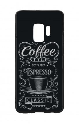 Cover Bicomponente Samsung S9Plus  - Coffee Style