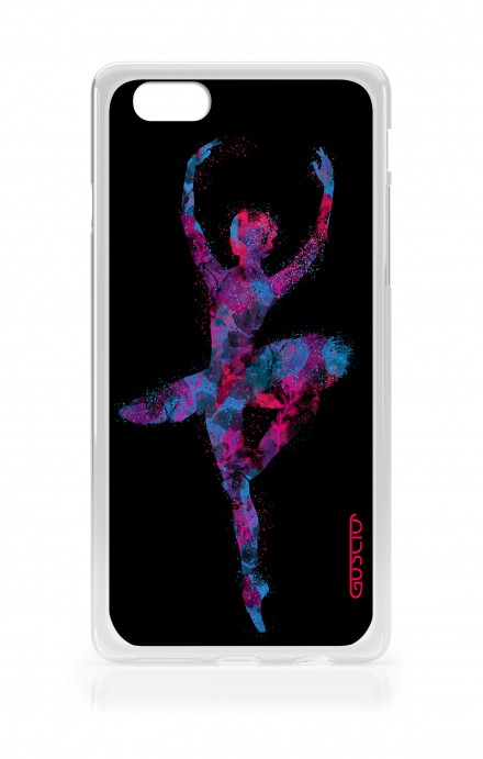 Cover Apple iPhone 7/8 Plus TPU - Ballet in Black