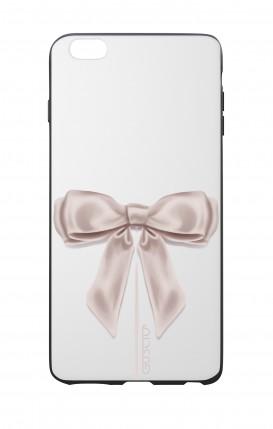 Cover Bicomponente Apple iPhone 7/8 Plus - Fiocco di raso bianco