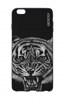 Apple iPhone 7/8 Plus White Two-Component Cover - Black Tiger