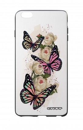 Apple iPhone 7/8 Plus White Two-Component Cover - Butterflies white