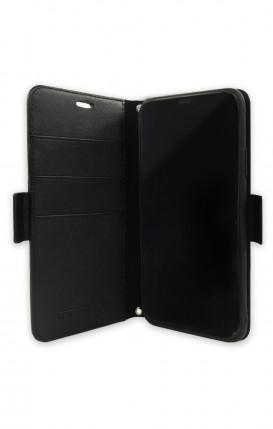 Cover STAND Samsung S10e - Scritte e Cuori rosa nero