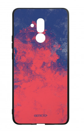 Huawei Mate20Lite WHT Two-Component Cover - Mineral Red Blue