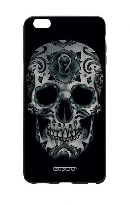 Apple iPhone 6 WHT Two-Component Cover - Dark Calavera Skull