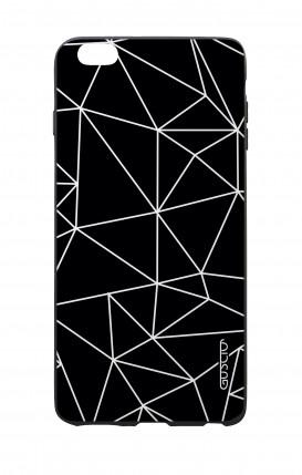 Cover Bicomponente Apple iPhone 7/8 - Ananas bianco e nero
